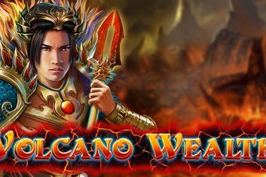 Online spēļu automāts VOLCANO WEALTH kazino spele